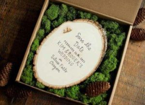 свадьба стиль лес