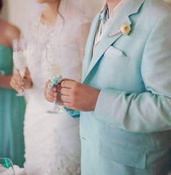свадьба стиль тиффани