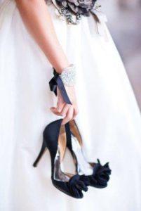 свадьба черный стиль
