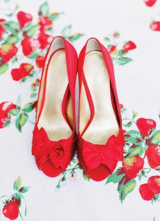 свадьба стиль ягода